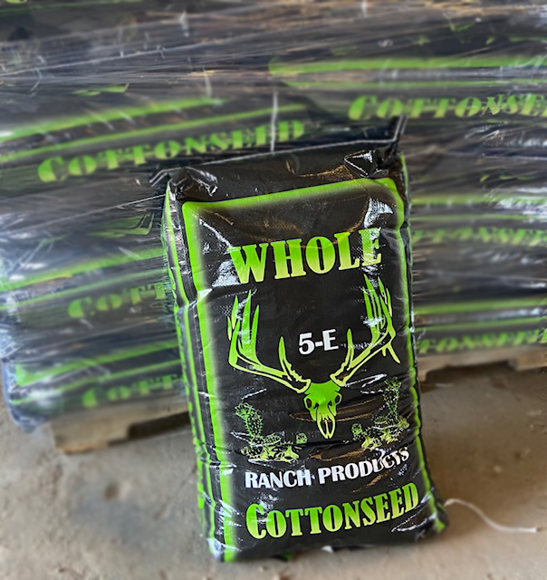 5-E Ranch Products New Whole Cottonseed Bags